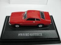 CARRO MAVERICK FORD 1970 VERMELHO ESC.: 1/87 HO