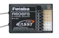 RECEPTOR FUTABA 2.4GHZ R606FS P/ RÁDIO 6CH