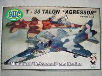 AVIÃO FAB T-38 TALON AGRESSOR (FAB) ESC.: 1/48 ENV.:250mm