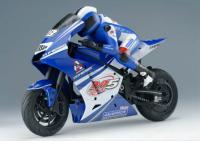 MOTOCICLETA ELÉTRICA RC MOTO RACE C/MOTOR 540 STANDARD ESC.: 1/5