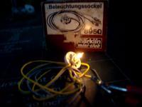 LAMPADA E SOQUETE P/ ILUMINAÇÃO DE CONSTRUÇÕES 12V DC ESC.: Z ESC.: 1/220