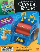 RADIO CRISTAL GALENA FUNCIONA SEM ENERGIA ELÉTRICA