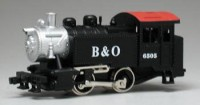 LOCOMOTIVA A VAPOR 0-4-0 DOCK SIDE BALTIMORE & OHIO ESC.: HO ESC.: 1/87
