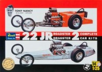 DRAGSTER PLASTIMODELO TONI NANCY 22JR ESC.: 1/25